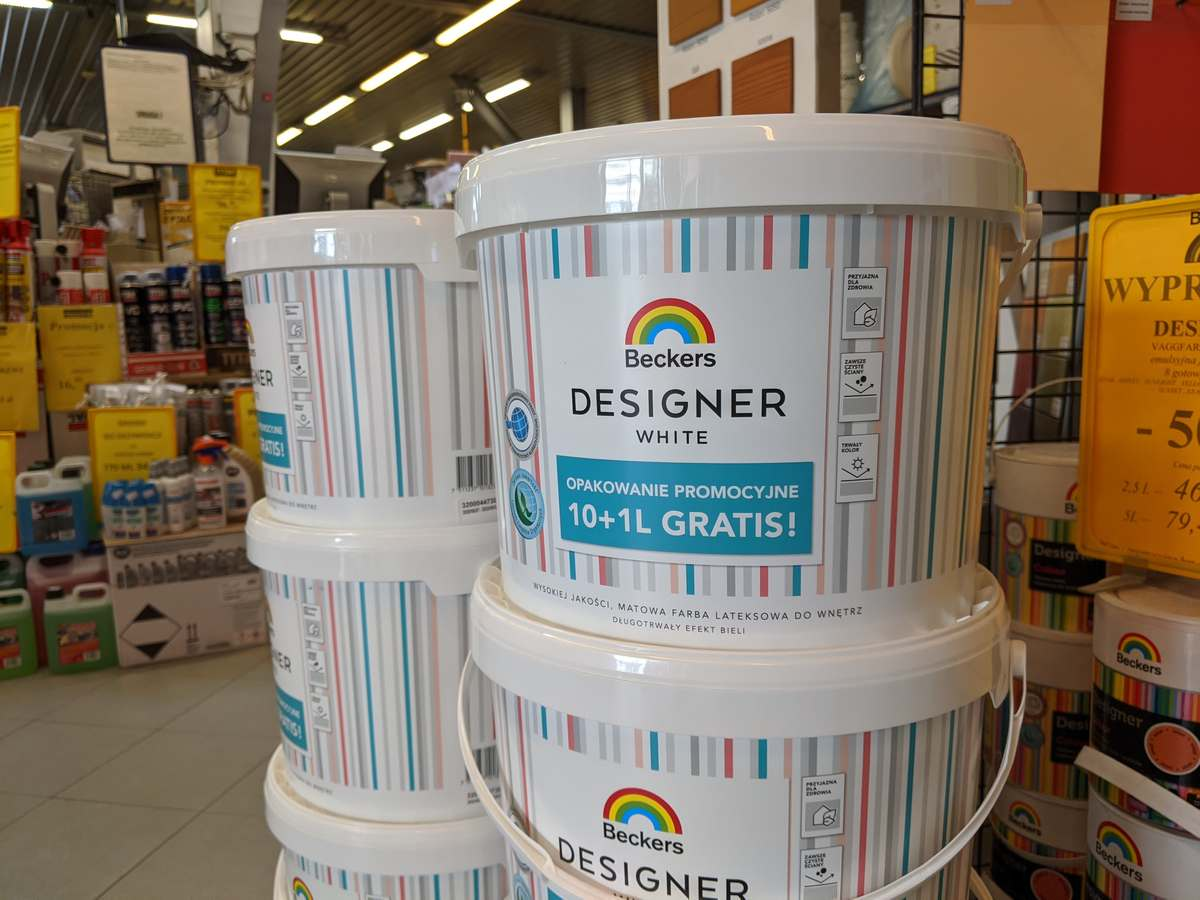 Beckers designer white promocja